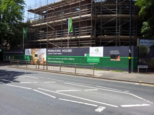 Branded hoardings for Gracewell Healthcare Nursing Home