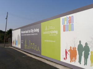 Branded hoardings for Urban Union Housing Development