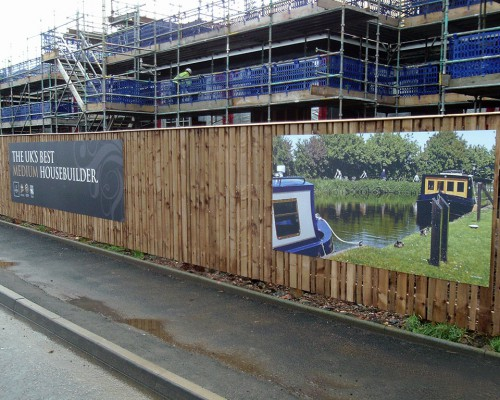 Temporary Hoarding Panels